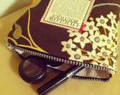 Liliglow Boutique's Floral Rustic Coin Purse/Make Up Case