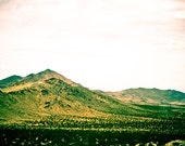Mountains Green Roadtrip Travel Fine Art Photography Print Home Decor Wall Art 4x6 - debstgo