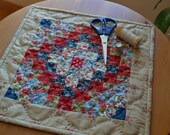 Americana Miniature Quilt Trip Around the World Mini Quilt