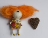 Saint Valentine Doll RED - totootse