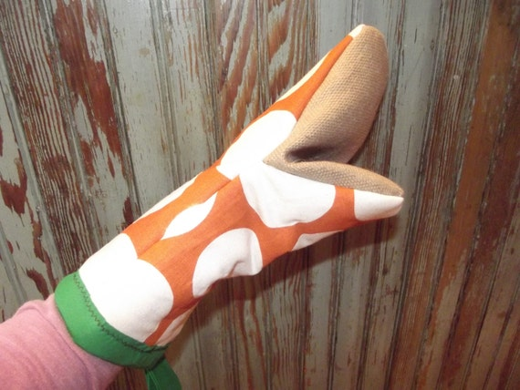 Orange Dreamsicle Marmie Oven Mitt