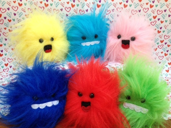 Pluffles - Tribble inspired plushies