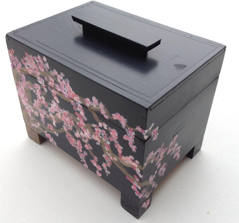 Items Similar To Cherry Blossom Jewelry Box Ring Bearer
