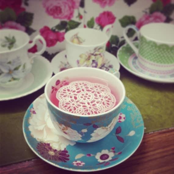 Sugar doilies tea coffee