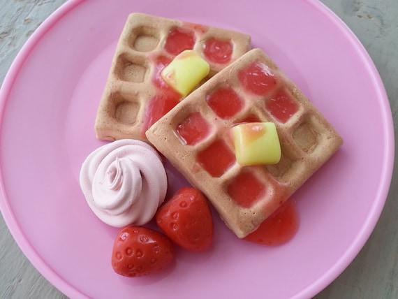 American Girl Food Waffle Breakfast