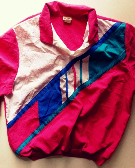 80s Vintage Old School Windbreaker