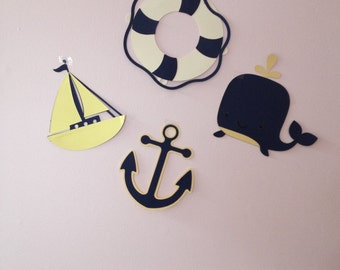 Popular items for nautical wall decor on Etsy