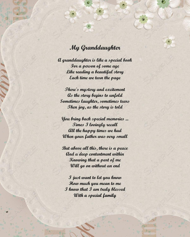 Grandmother And Granddaughter Poems Grandma Grandson Related