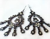 HANDMADE Moroccan Earrings, Exotic Ethno Style Earrings, GYPSY Princess Earrings, MOROCCAN Jewelry, Moroccan Princess Earrings, Gift Ideas
