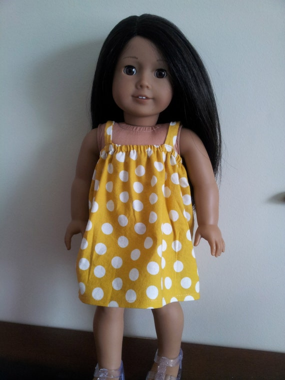 Doll Dress for 18 inch doll - The Daphne dress