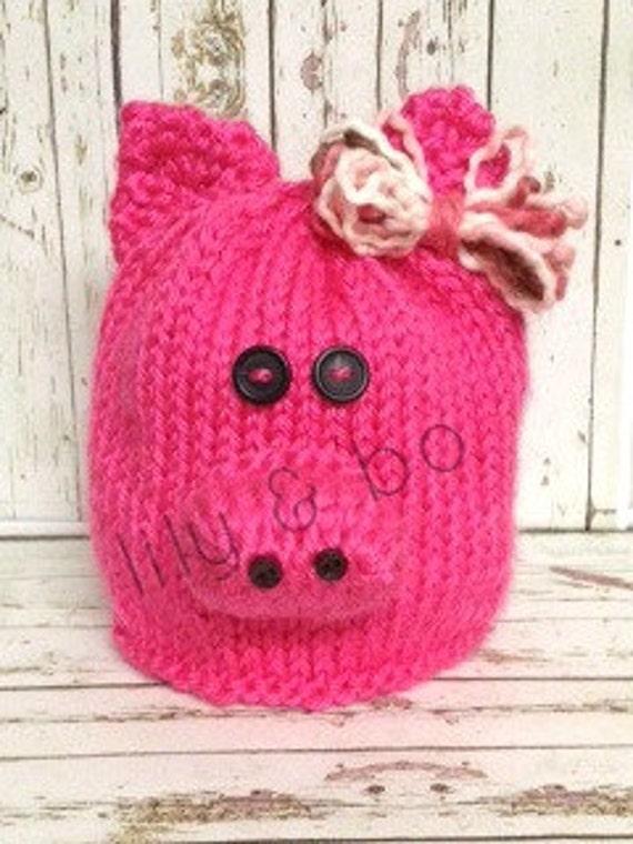Adorable Piggy Hat