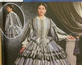 sewing pattern SIMPLICITY VICTORIAN historical 9761 14-20