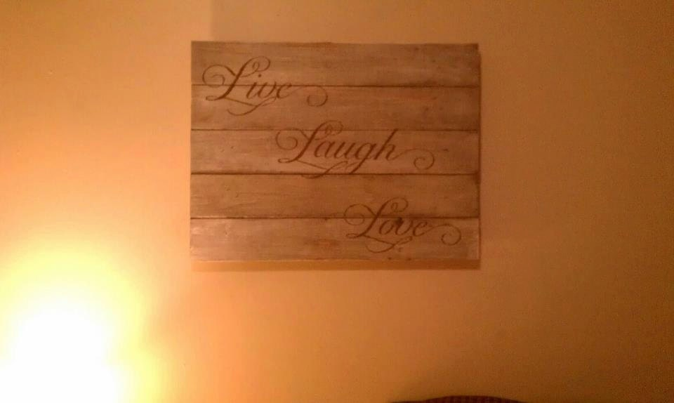 Live Laugh Love Country Home Decor Wood by farmhousecreations1