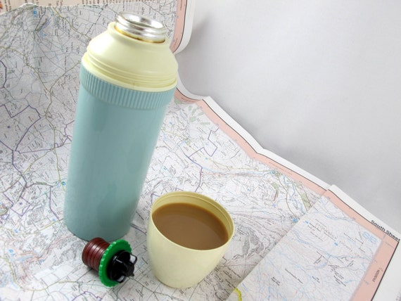 Cute retro vacuum flask, by The British Vaccum Flask Co. Ltd.