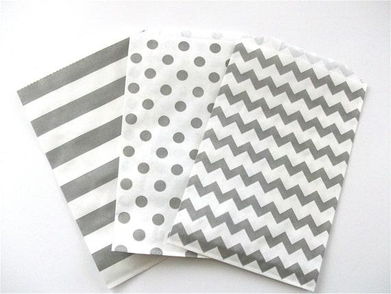 5 x 7 flat paper treat bags