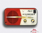 Vintage Majestic Radio - iPhone 4 Case, iPhone 4s Case and iPhone 5 case - SealedWithaCase