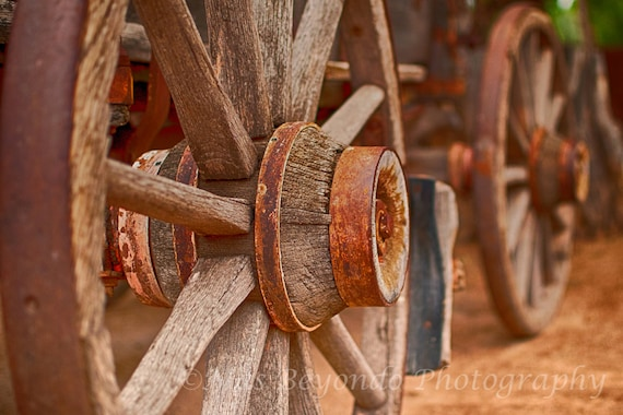 Fine Art Nature Photography Wagon Wheels Fine Art photography 8X12 print