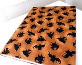 Bat Halloween notebook journal.
