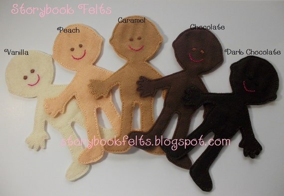 Storybook Felts Felt Doll