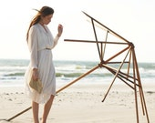 white pleated shirtdress - studio842