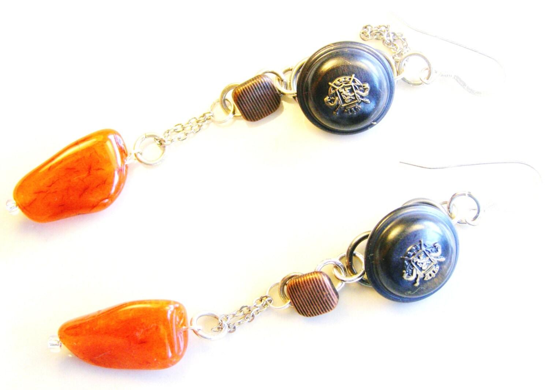 oorbellen 'Tangerine'