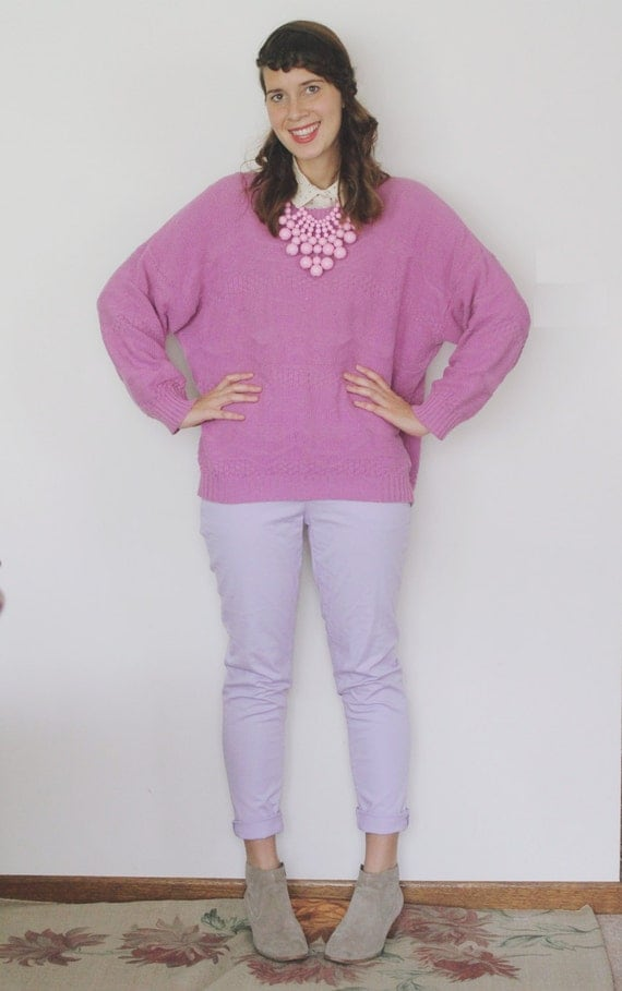 Vintage 1960's Pinking of You Sweater
