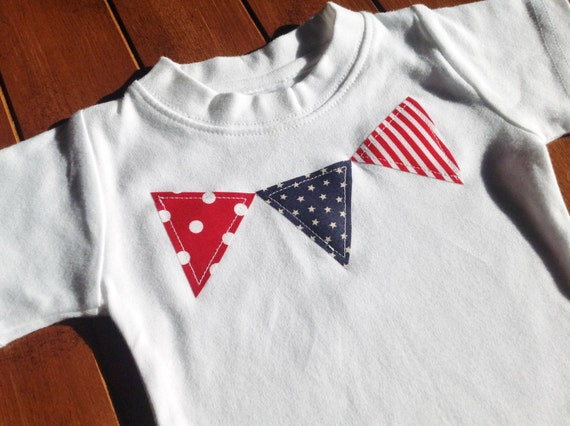 Patriotic Bunting Shirt - custom size