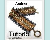 Andrea Superduo Rulla Beadwork Bracelet PDF Tutorial