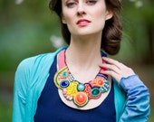 The Carnivale Bright Bohemian Bib Necklace - FreshMetal