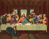 The Last Supper  Cross Stitch Pattern  LOOK