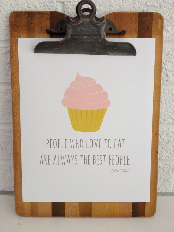 People Who Love to Eat - Art Print