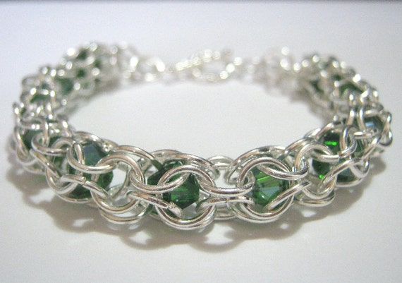 Erin Chainmaille Bracelet