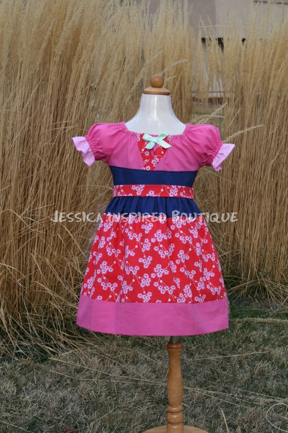 Disney Mulan Dress - Princess Mulan Inspired Dress Size 5, 6, 7, 8
