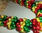 Rastafarian (Ribbon Lei)