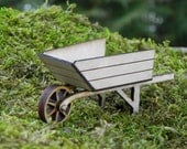 Fairy Garden Wheelbarrow - miniature - TheLittleHedgerow