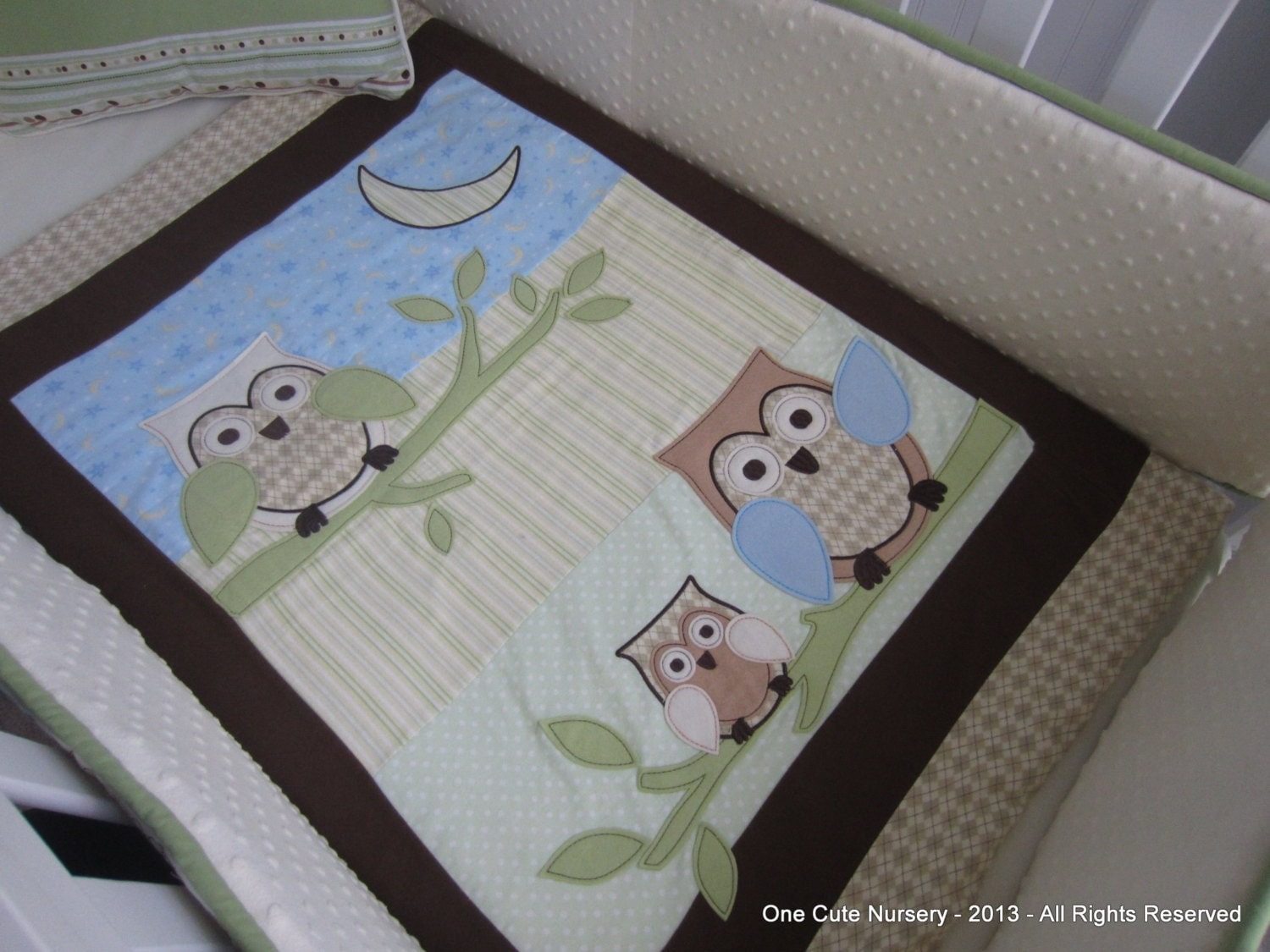 Perfect Owl Themed Crib Bedding Set