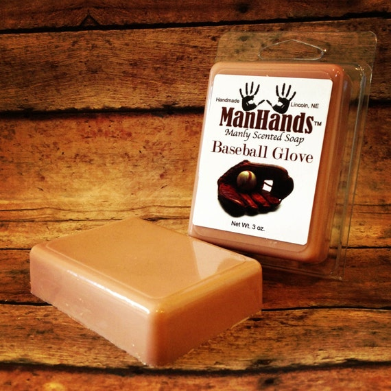 Baseball Glove Scented Soap 3 oz. Bar