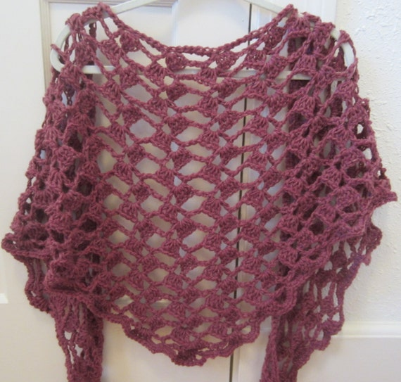 Crochet Pattern Instant Download  Petal Lace Spring Summer Shawl