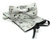 marthu bow tie NEWSPAPER amazing new collection spring 2013 model m0023 - MARTHUcom