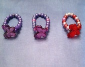 Butterfly Bracelets.  VARIOUS Colors.  Fits Most Girls Wrists.