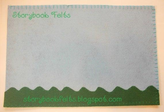 Storybook Felts Embellished Felt Story Board Felt Board