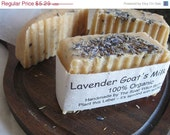 sToReWiDe sale Rustic Lavender Double Goats Milk Soap