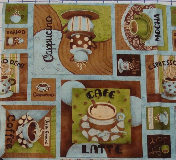 DEBBIE MUMM Coffee Cafe Expresso Cheater by SpecialMemoriesSewn