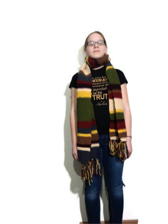 Dr. Who inspired scarf - multi-colored - 4th Doctor