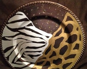 ANIMAL PRINT TRIBAL AND AFRICAN DECORATING by UncivilizedCreations