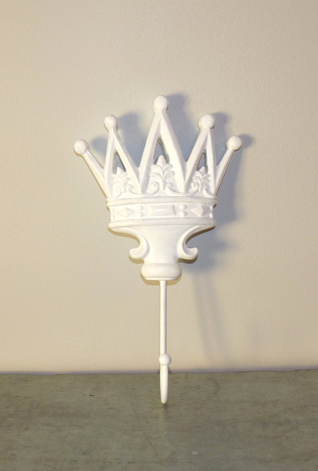 Princess Decor Wall Hooks Clothing Hooks Crown by LittleShopofPop