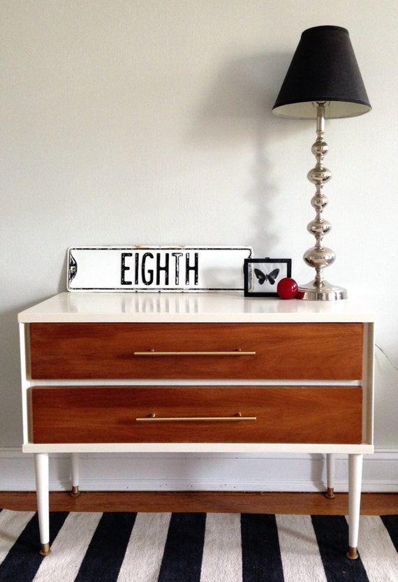 Mid-Century Reclaimed Dresser or Television Stand (NYC LOCAL PICKUP only)