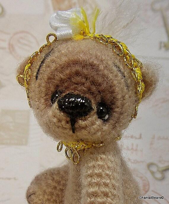 2 teddy bears prototypes of my new pattern, Romina and Nora