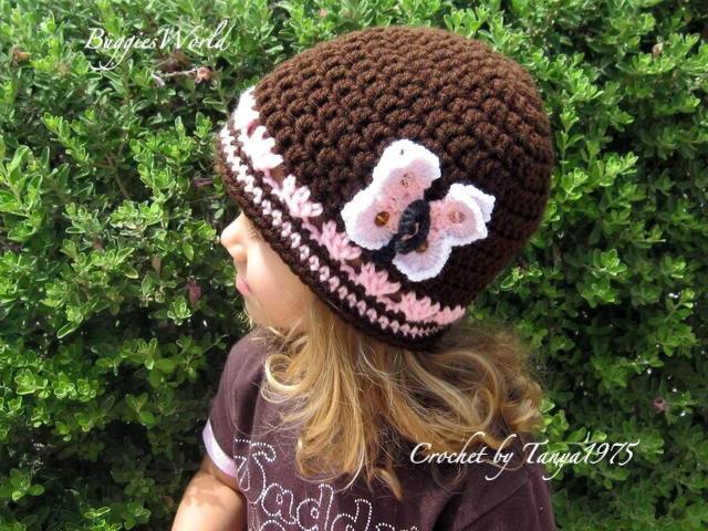 قبعات كروشيه روعة للاطفال..... il_570xN.269279723.j