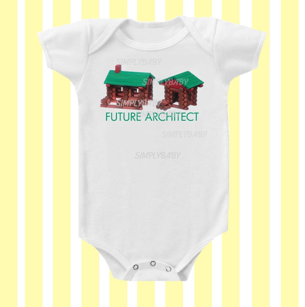 Future Architect Baby Onesie by Simply Baby - Simplybabyshop